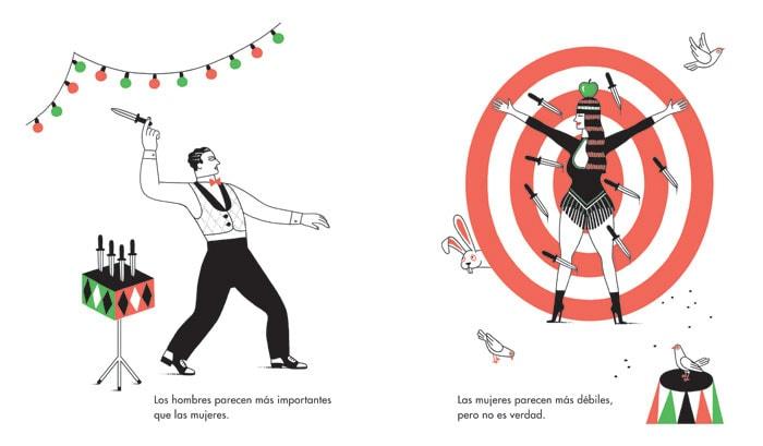 Ilustración del libro 'Las mujeres y los hombres' I La Marea