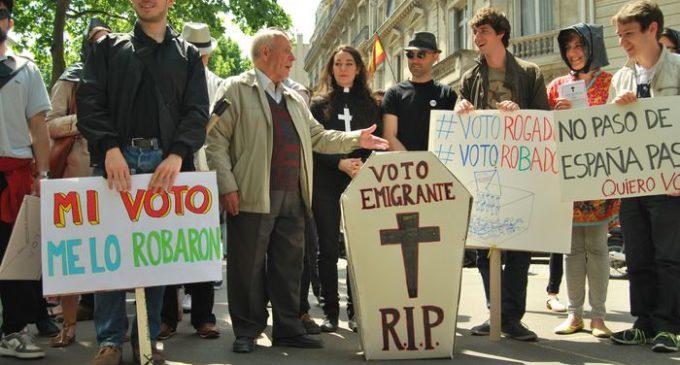 """Marea Granate: """"Se está impidiendo que mucha gente en el exterior vote"""""""
