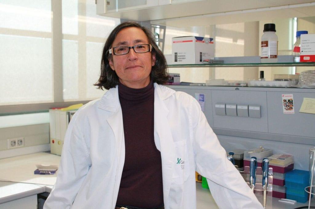 La investigadora Marta Alarcón. FUNDACIÓN ANDALUZA PROGRESO Y SALUD