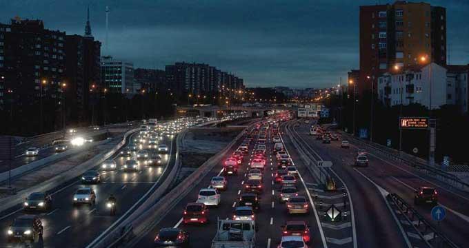 madrid ciudad coche aparcar contaminación