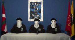 ETA anuncia la fecha de su desarme: 8 de abril