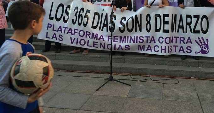 Manifestación celebrada en Sevilla el 8-M. O. C.