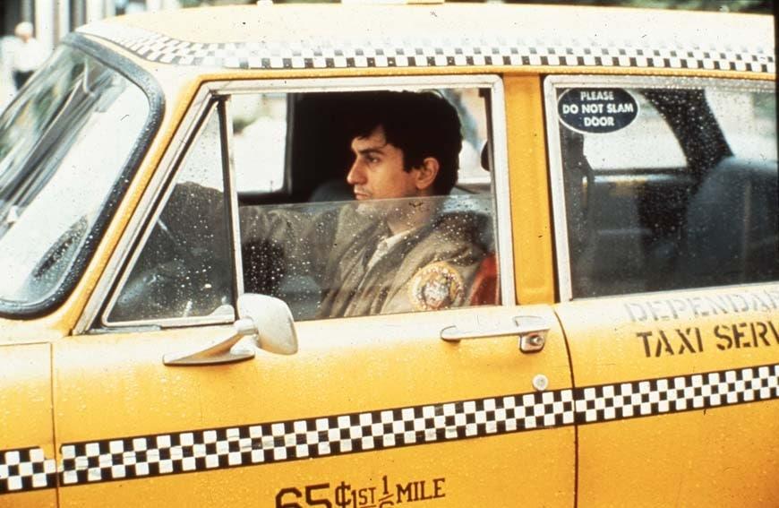 taxi driver desconcierto