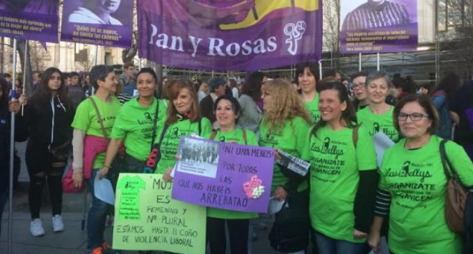 """Ángela Muñoz (Las Kellys): """"Los sindicatos mayoritarios nos consideran intrusas"""""""