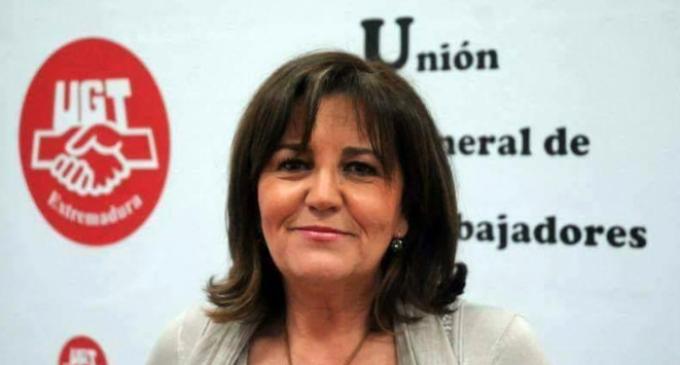 """Patrocinio Sánchez (UGT): """"Vamos a empezar a recuperar derechos. No van a poder con nosotros"""""""