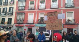 Lavapiés se levanta contra la gentrificación y el turismo de masas