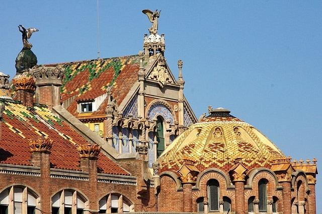Hospital de la Santa Creu i Sant Pau, de Barcelona.