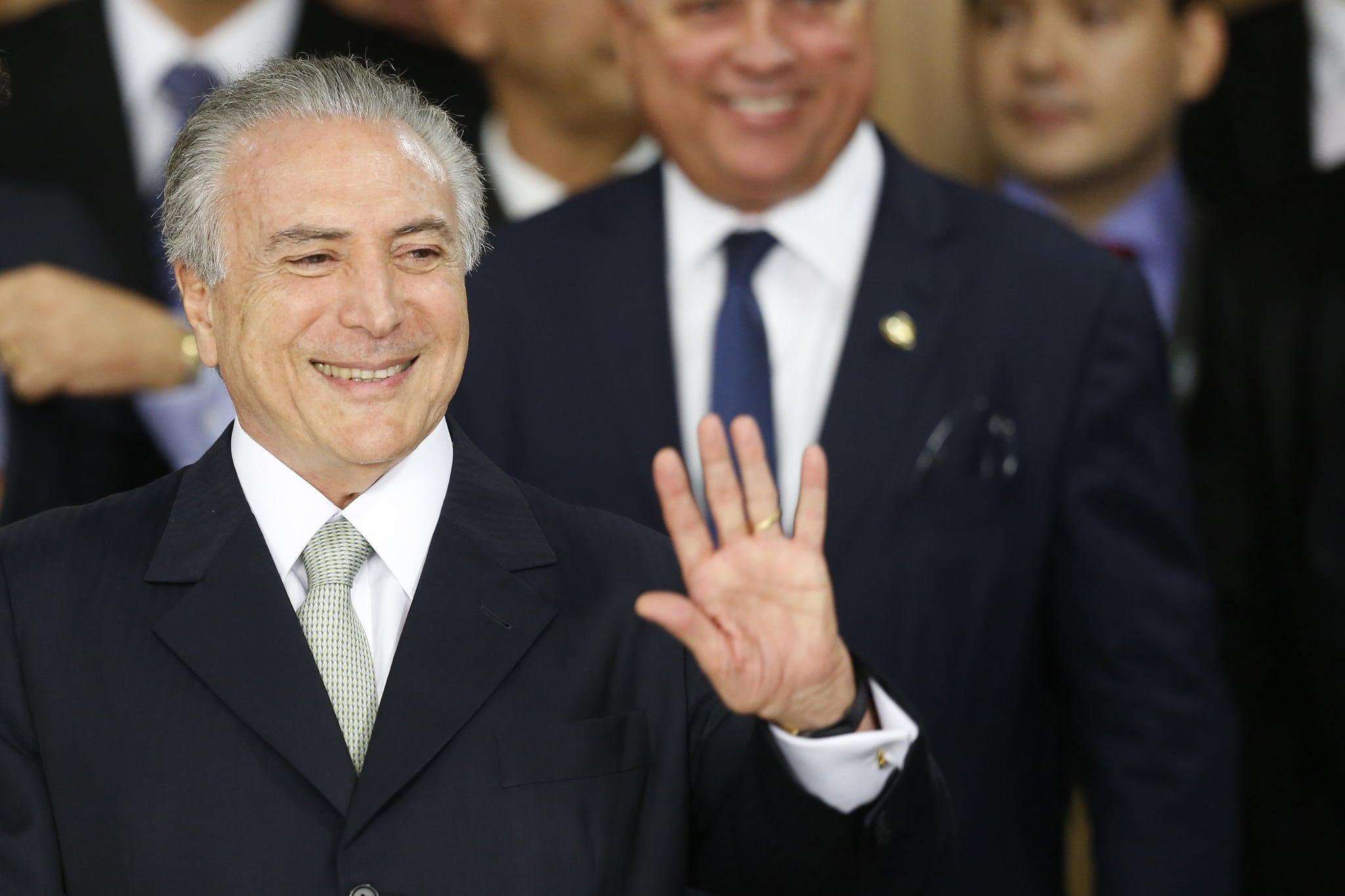 Michel Temer, presidente (no electo) de Brasil. FOTO: PMDB.