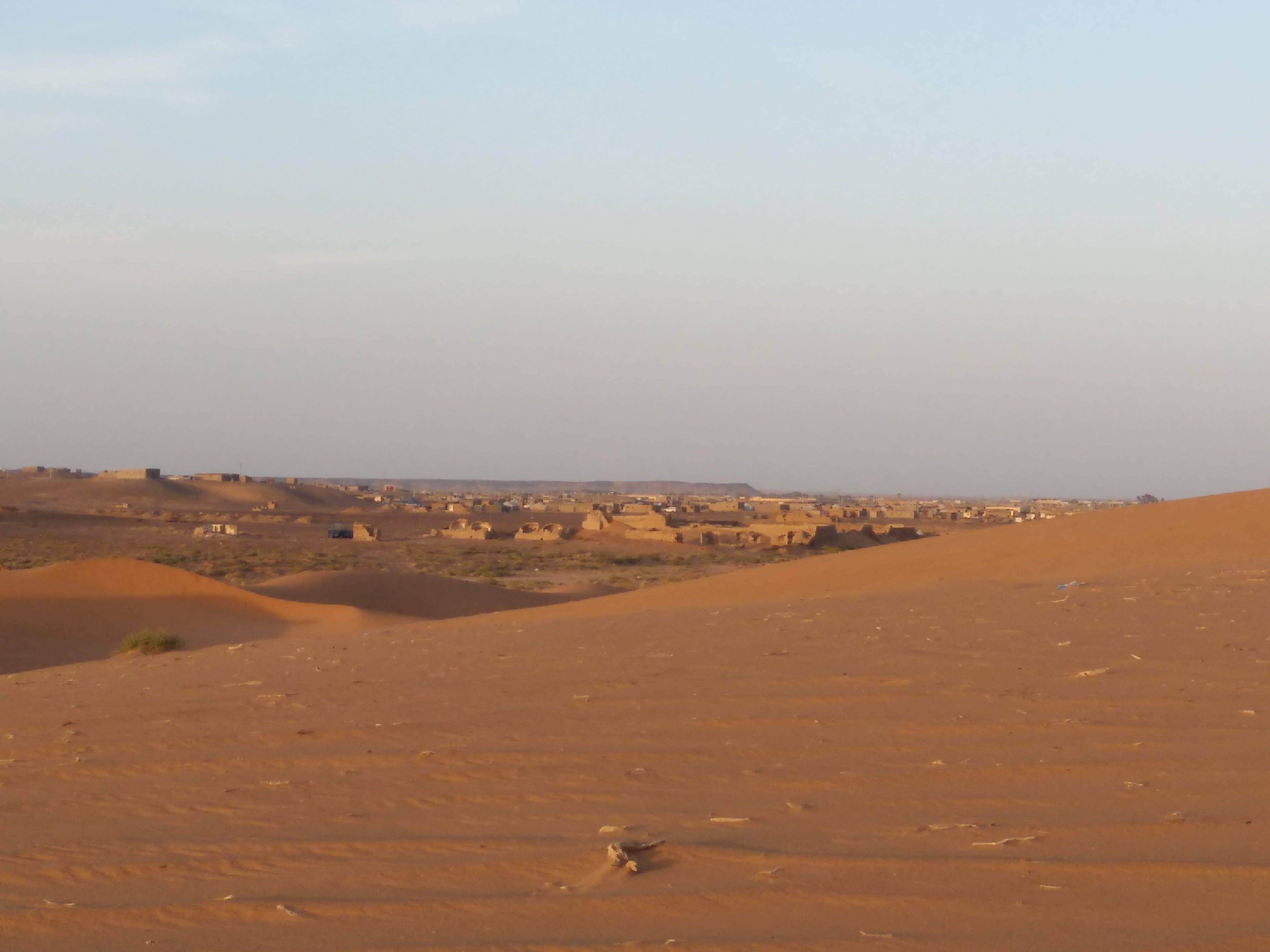 Campamento de Dajla I La Marea