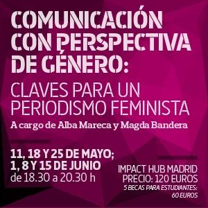 Cursos de periodismo: Comunicar con perspectiva de género