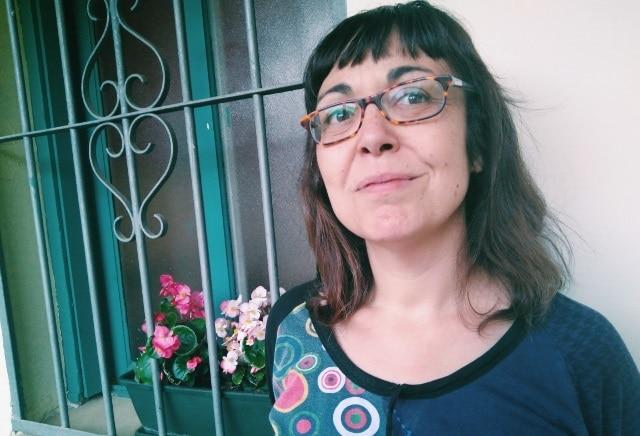 La periodista Carolina León. Foto: María Castelló