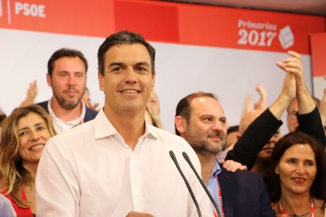El secretario general del PSOE, Pedro Sánchez I La Marea