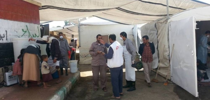 Parte del personal sanitario en Yemen recibe el apoyo de organizaciones como Médicos Sin Fronteras. MSF