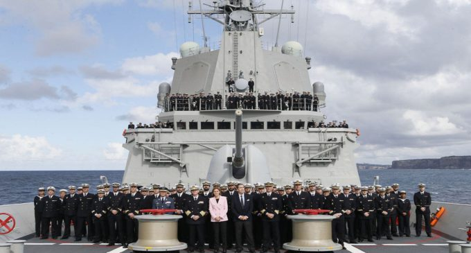Fragatas españolas 'made in Australia'