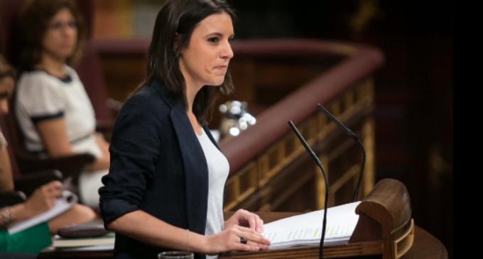 Irene Montero desmonta al PP con un discurso duro y contundente