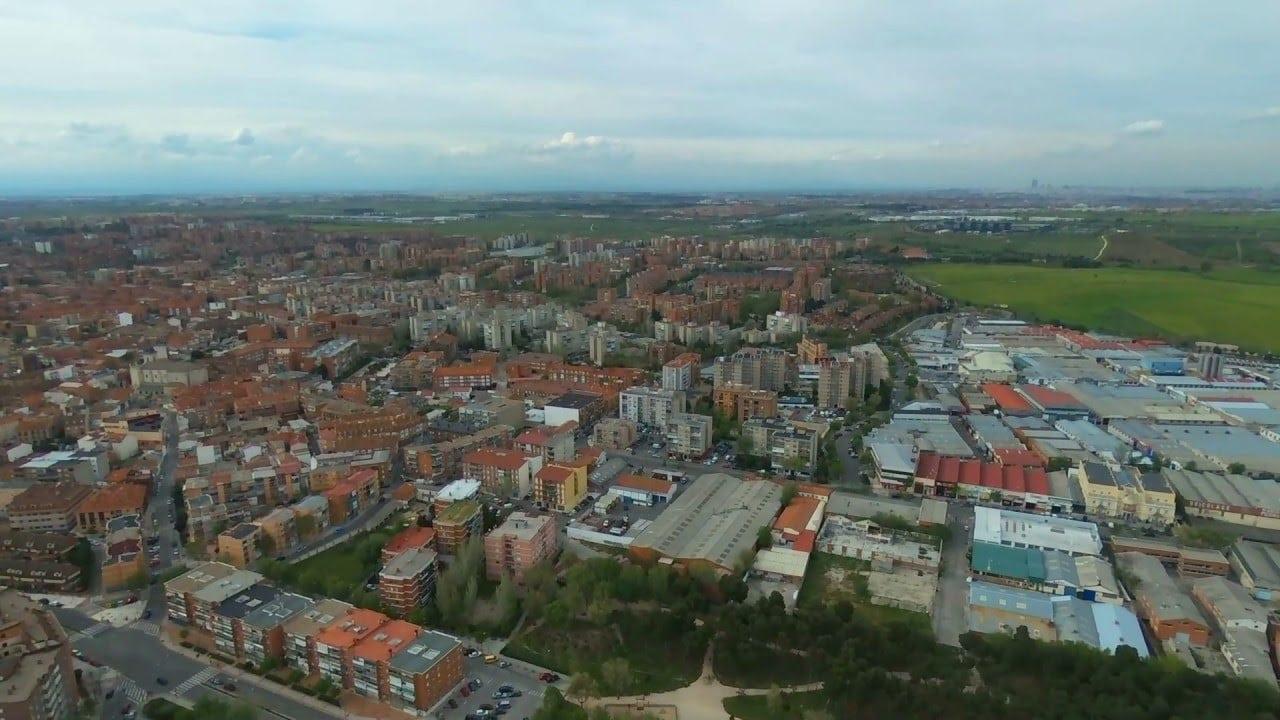 Imagen aérea de Fuenlabrada | La Marea