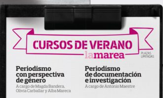 Este verano, cursos de periodismo de 'La Marea' en Madrid, Sevilla y Zaragoza