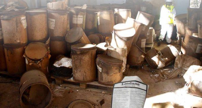 """La producción de lindano """"ha dejado una carga tóxica de difícil gestión"""""""