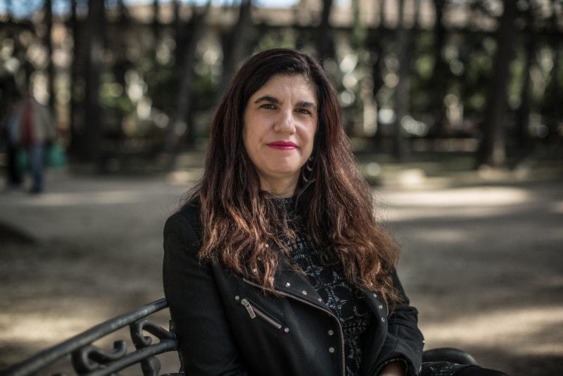 La periodista argentina Luciana Peker en España. Foto: Pablo Tosco / Oxfam Intermón.