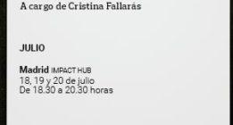 [CURSO] Periodismo literario, a cargo de Cristina Fallarás