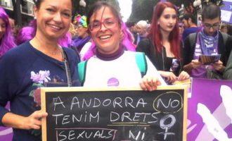 """""""Las mujeres en Andorra creen que pueden abortar aquí como en Cataluña"""""""