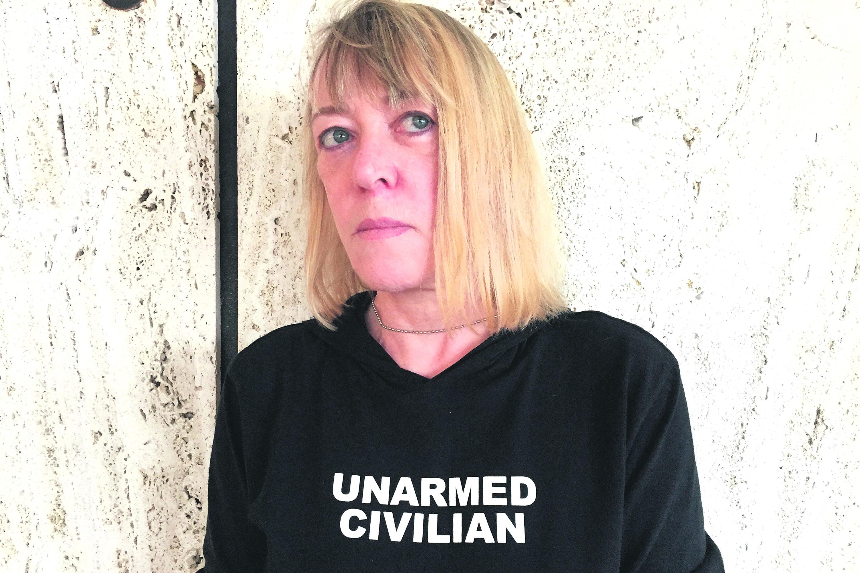 Jody Williams en la sede de Naciones Unidas en Ginebra, Suiza. Foto: José Bautista.