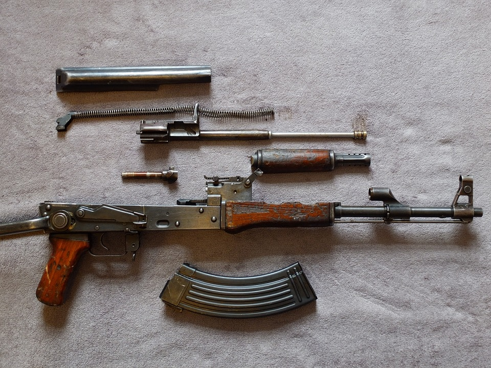 Fusil AK-47. Foto: Flanell Kameras.