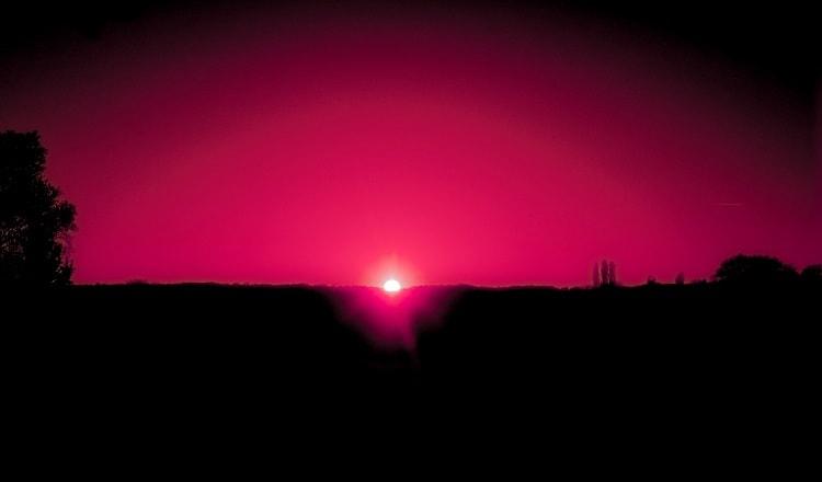 """""""Como el fin del mundo"""". Foto: X. Klima."""