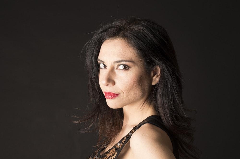 Marta Flich, economista y actriz. Foto: Alejandro Fuertes Munera.