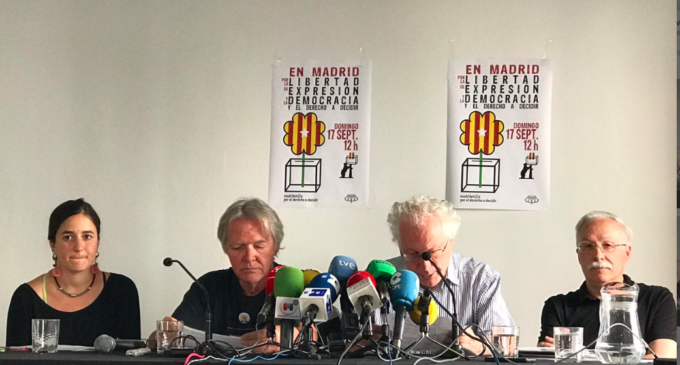 El acto de Madrileñ@s por el derecho a decidir se celebrará en el Teatro del Barrio