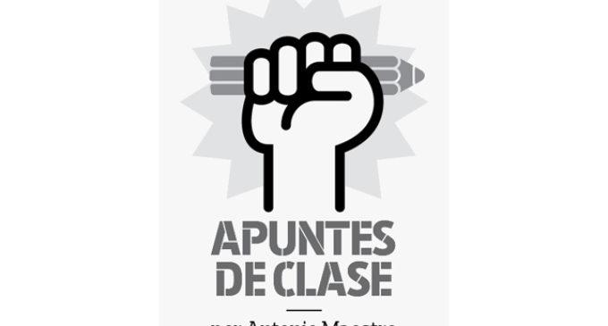 'Apuntes de clase', un suplemento coordinado por Antonio Maestre