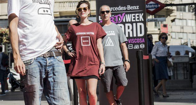 'Dirty Week', una pasarela ecologista ante la Fashion Week de Madrid