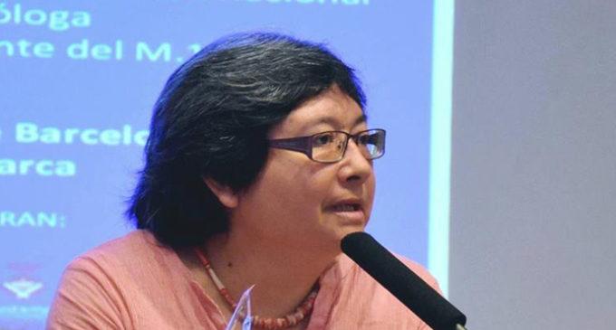 """Nelly Palacios: """"Me parece bien la independencia pero no como la están llevando"""""""