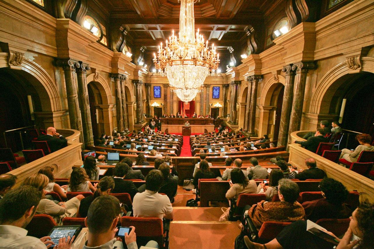Parlament de Catalunya. Foto: Job Vermeulen.