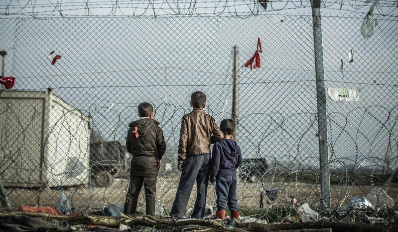 Campo de refugiados de Idomeni (Grecia). Foto: Pablo Tosco/Oxfam Intermón.