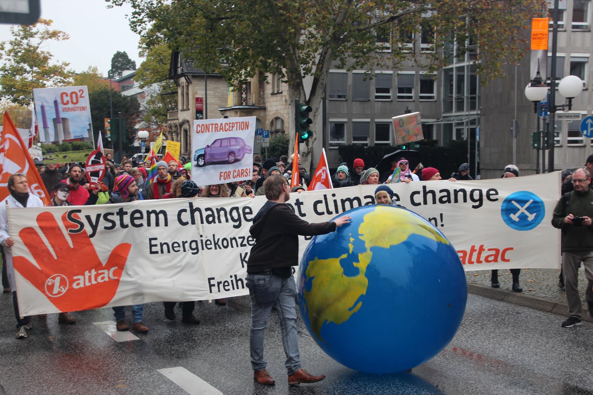 Marcha por el Clima durante la COP23 en Bonn, Alemania. Foto: Takver.