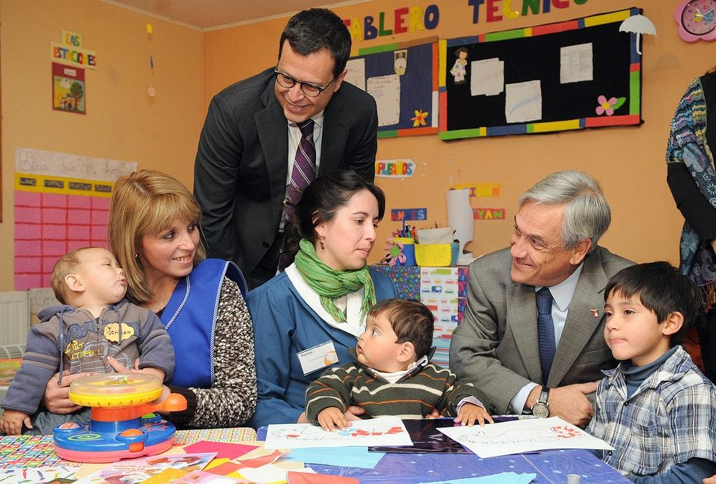 El expresidente liberal y conservador Sebastián Piñera es favorito en las encuestas. Foto: Gobierno de Chile.