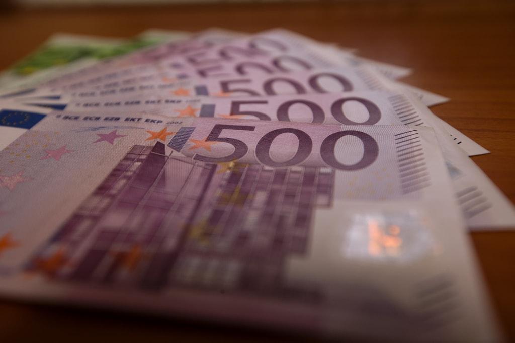Billetes de 500 euros. Foto: Fufu Wolf.