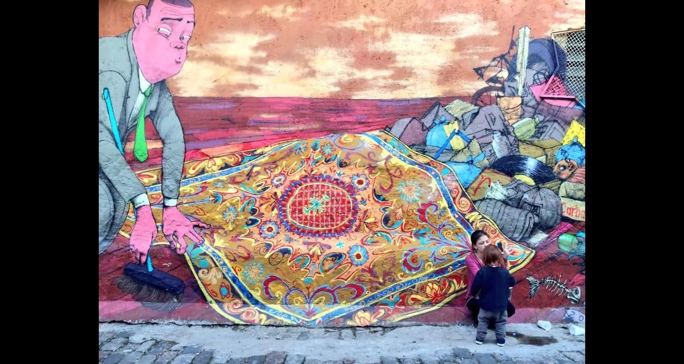 Graffiti de Paulo Ito en São Paulo, Brasil. Foto: José Bautista.