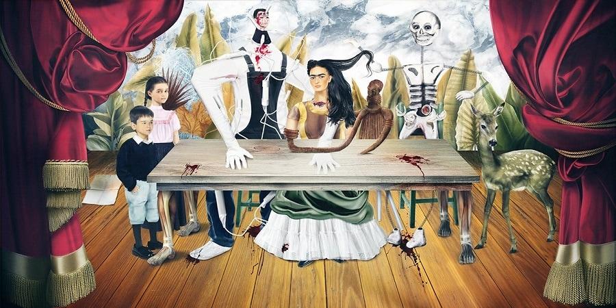 'La mesa herida', de Frida Kahlo.