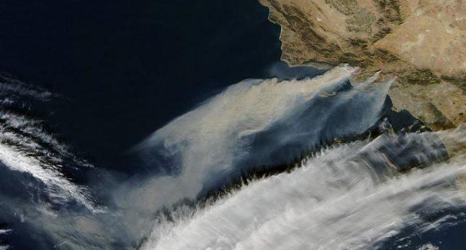 Noticias climáticas: Arde California