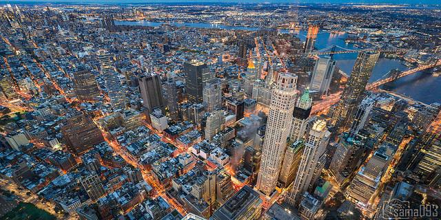 Vista aérea de Nueva York. Foto: Sama / CC BY-NC 2.0.