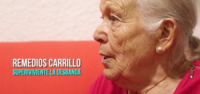 El testimonio de Remedios Carrillo, superviviente de la 'Desbandá'