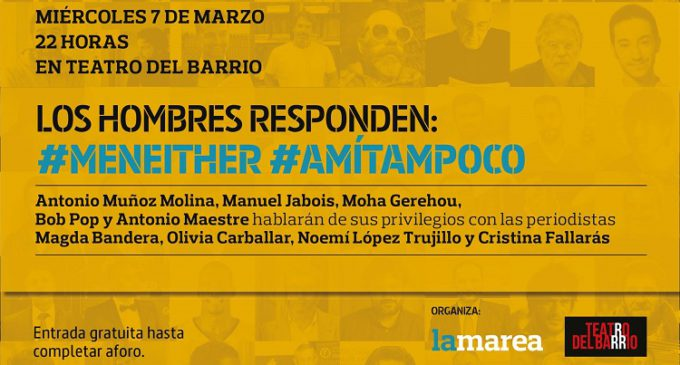 ¡El 7 marzo, fiesta y reflexión en el Teatro del Barrio!