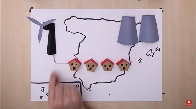 Fotograma del vídeo divulgado por Acciona en su canal de YouTube.