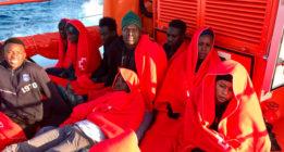 Rescatadas 600 personas en las costas andaluzas en un fin de semana