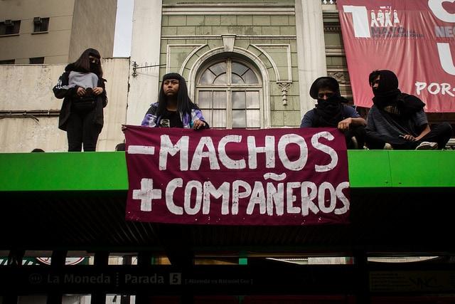 Marcha por una educación no sexista en Santiago de Chile. Foto: Franzisko Vicencio / CC BY-NC 2.0
