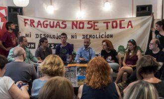 Los jóvenes que repoblaron Fraguas piden a García-Page retirar la demanda