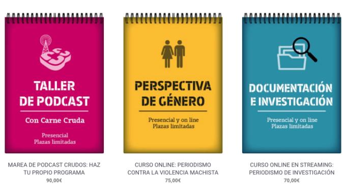 Aprovecha el verano con los cursos de periodismo de 'La Marea'