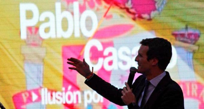 Imaginen que Pablo Casado está a un paso de liderar el PP